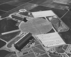 Aerial View of the Marine Corps Air Station Tustin - Lighter-than-Air Base